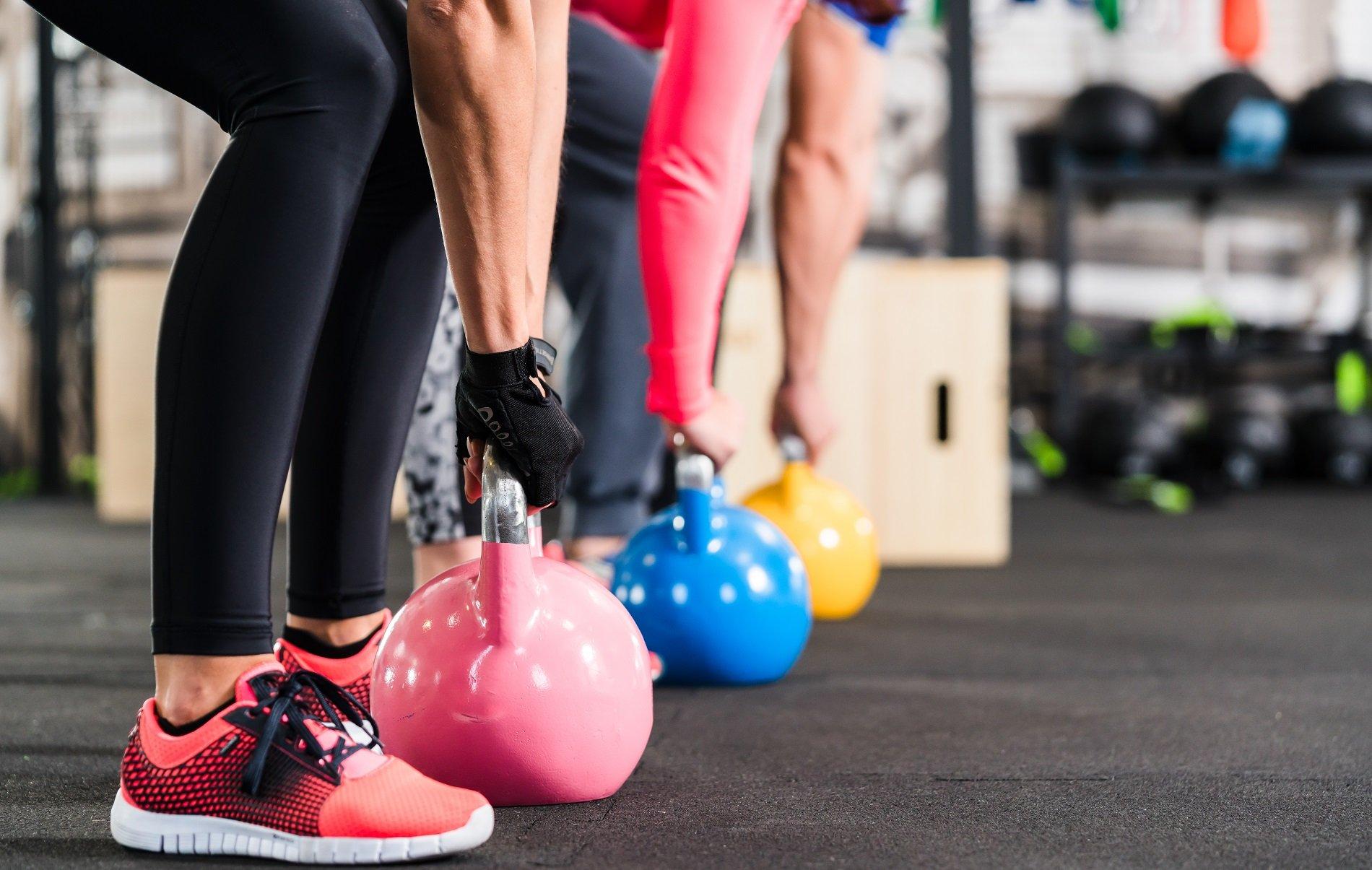 allenamento con pesi