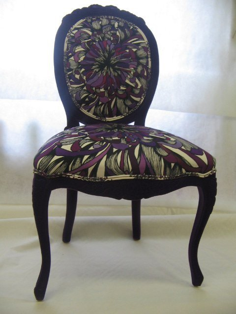 Furniture upholstery - Bedford - CA & NC Pedlar Upholstery - a newly upholstered antique chair