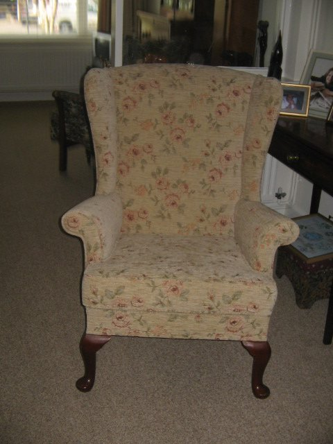 Re-springing - St Ives - CA & NC Pedlar Upholstery - classic chair