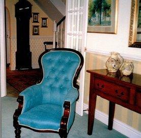Foam cushions - Peterborough - CA and NC Pedlar Upholstery - classic chair