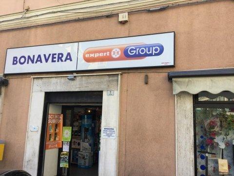il negozio Bonavera a Imperia