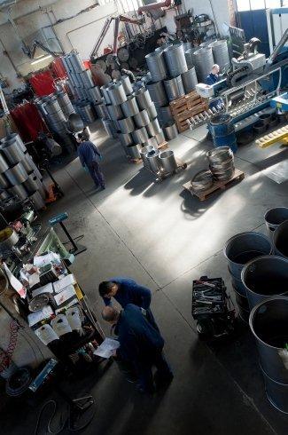canali in acciaio inox, pressopiegatura lamiere, profilati a freddo