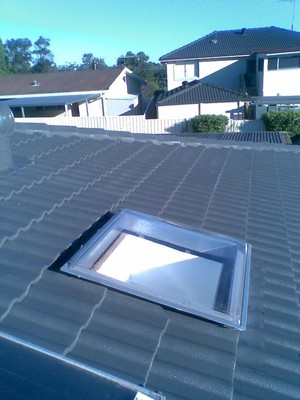 skylight on a roof in penrith