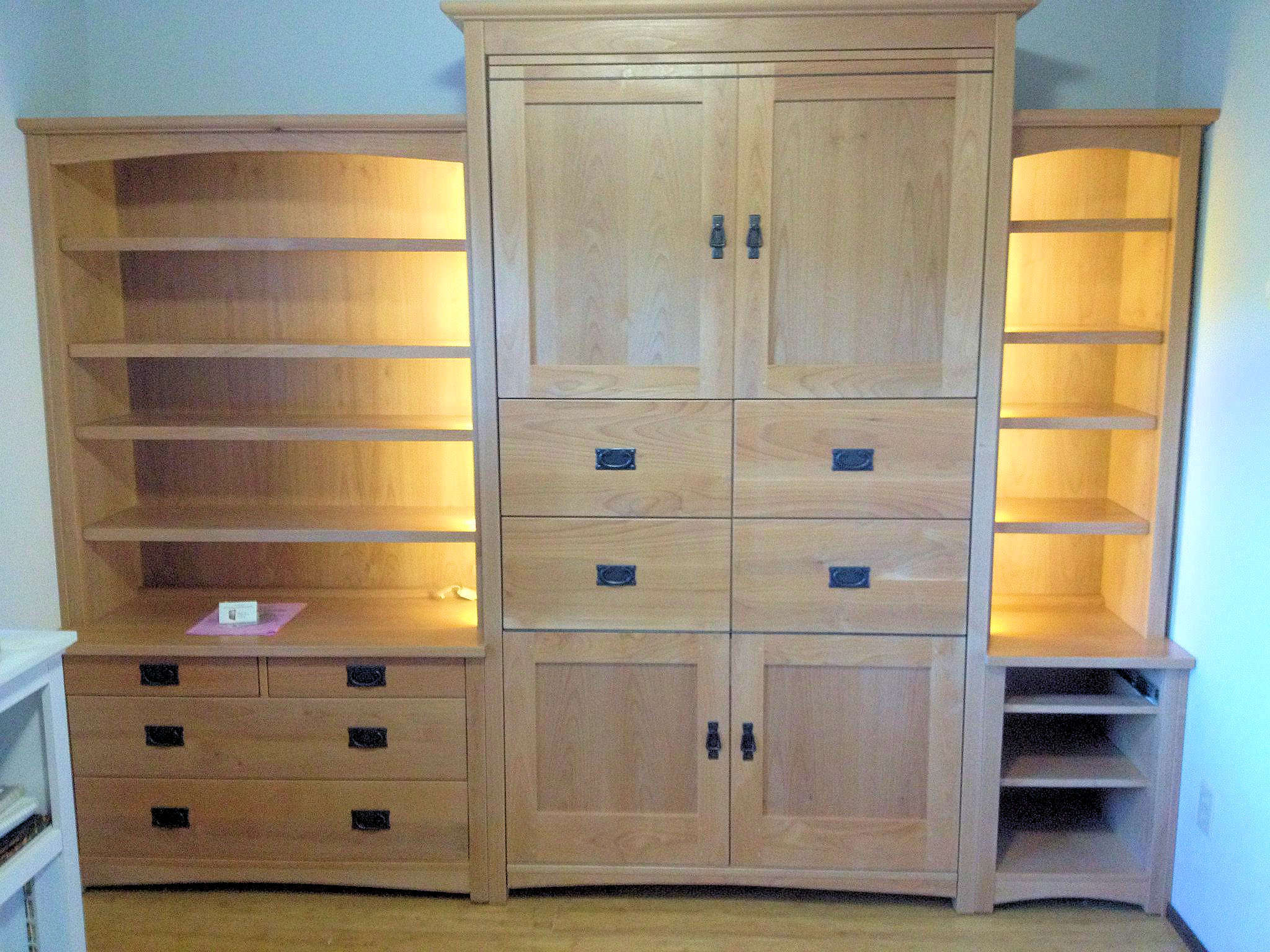 Flanking Bookcases by Sonoma Woodcraft