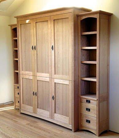 Original 6-door Craftsman bed w/side units