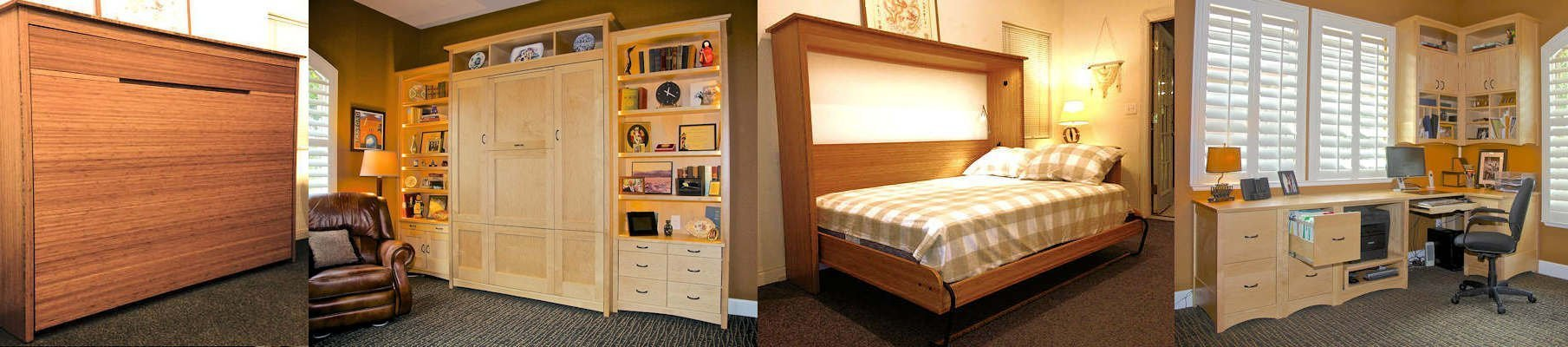 Wall Beds by Sonoma Woodcraft