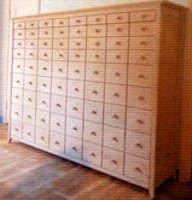 Amish apothecary wall bed