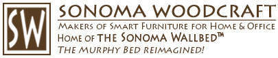 Sonoma Woodcraft - Murphy Beds Reimagined! Makers of unique Craftsman or Contemporary wall beds.