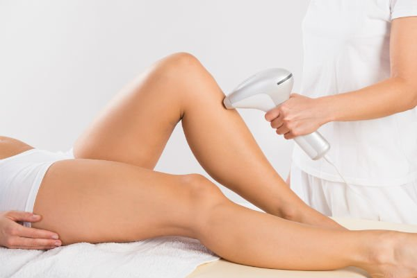 idratando le gambe