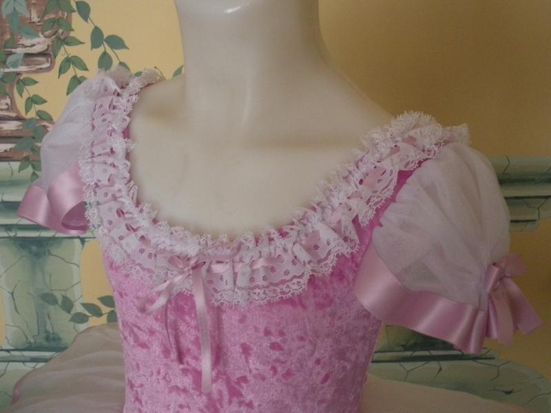 vestito ballerina rosa