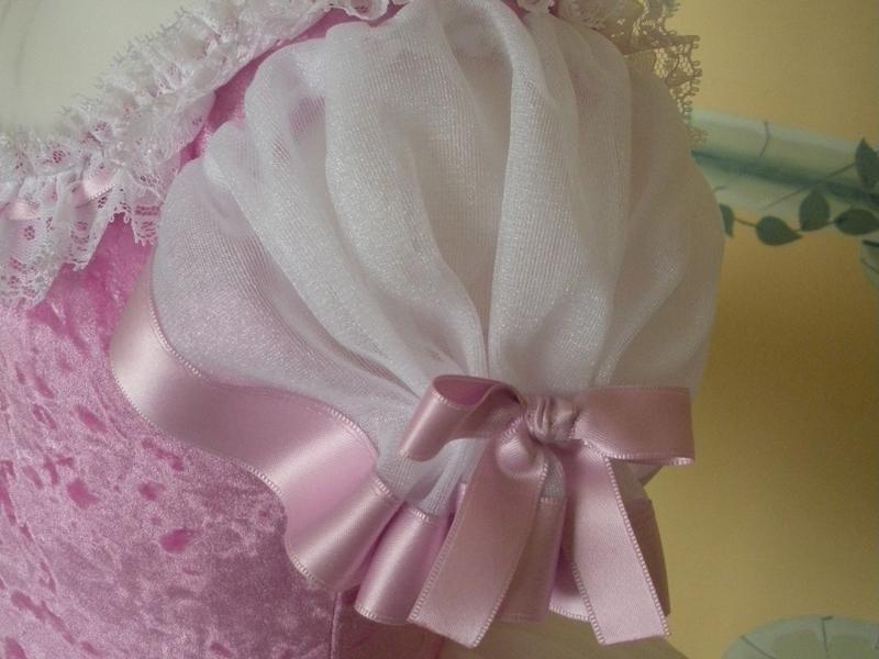 abito ballerina rosa