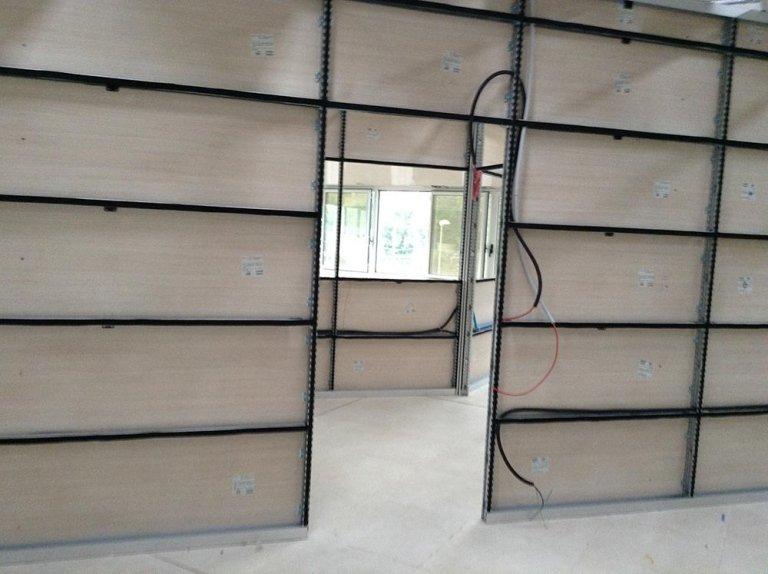 montaggio pareti ufficio