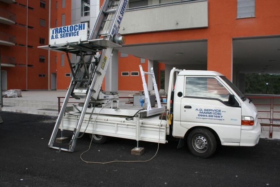 noleggio piattaforme aeree  Cosenza - AG SERVICE
