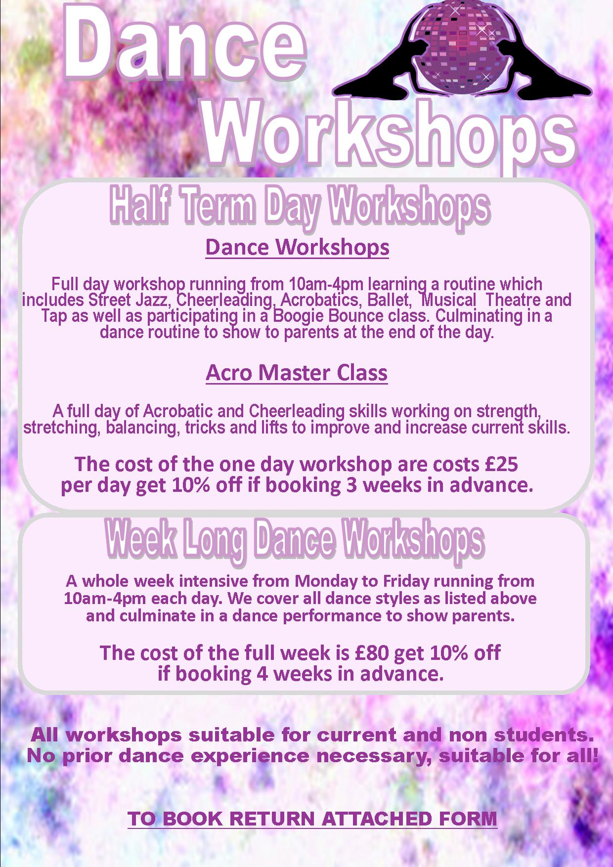 Dance holiday activities Lincoln uk