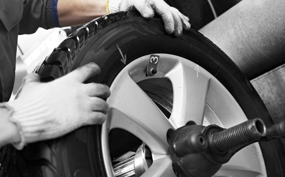 New tyre fitting service