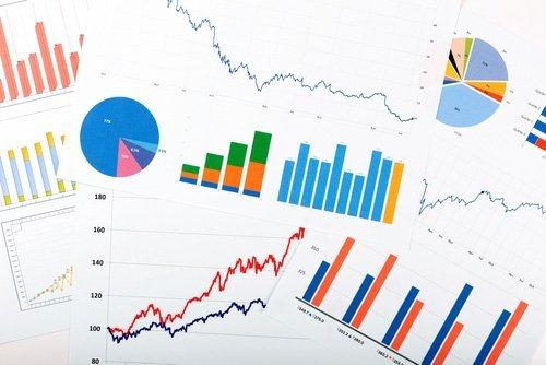 grafici di andamento fiscale