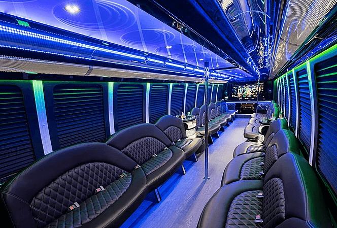 Los Angeles party bus rental service