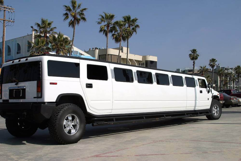 Los Angeles Limo Service White Hummer Limousine Rental - Pink hummer limo los angeles