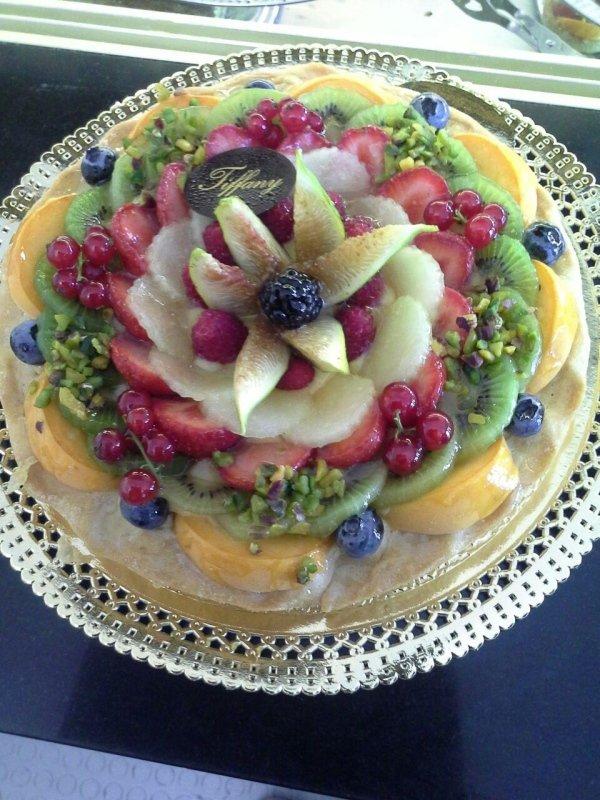 torte di compleanno alla frutta