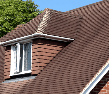 Tiled roof  - building and structural survey