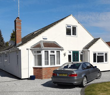 Bungalow with roof extension - homebuyers survey