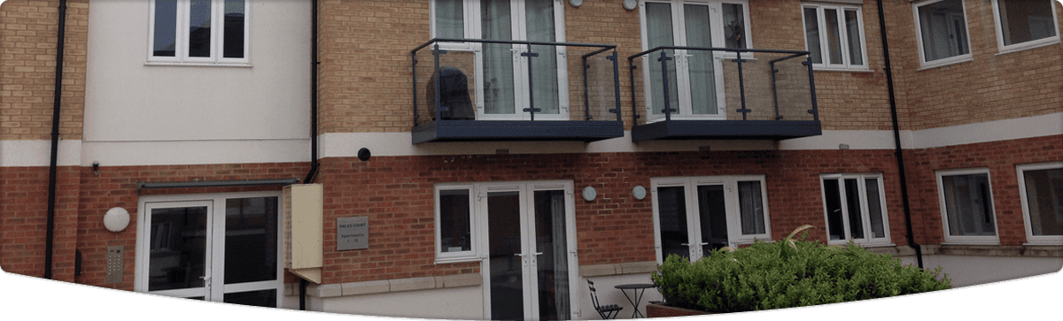 Brick work and window framing