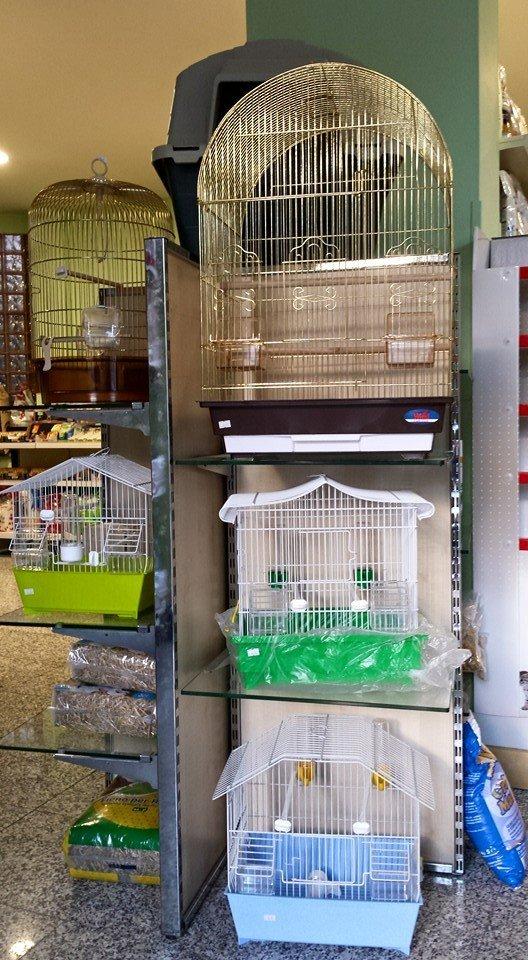 gabbie per uccelli