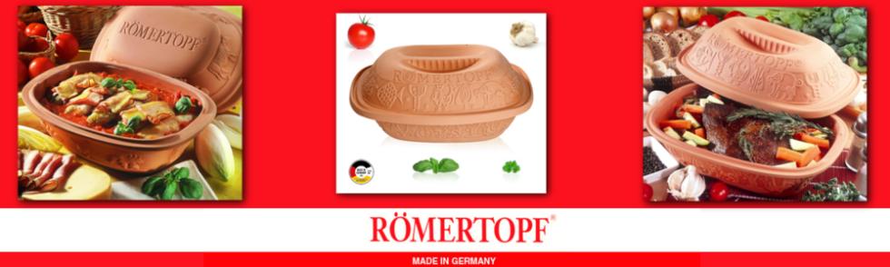 Tegami in terracotta originali Romertopf