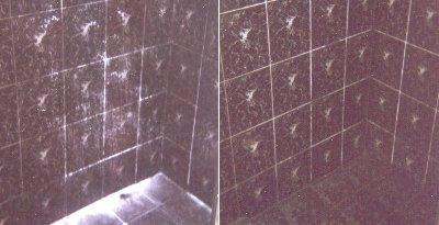 highlight enterprises pty ltd shower stained