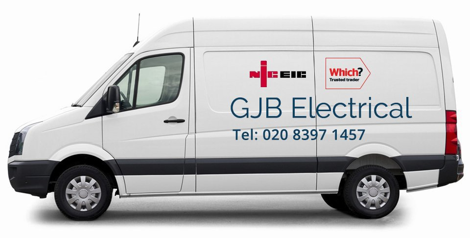 GJB Electrical Services van
