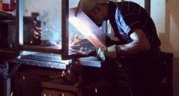 fabbro, lavori in ferro, saldatore