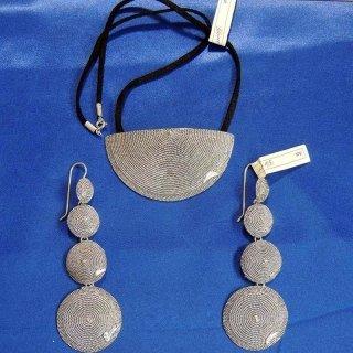 Collana e Orecchini d'argento in filigrana sarda
