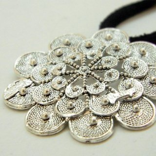 Ciondolo di Glauco in filigrana d'argento