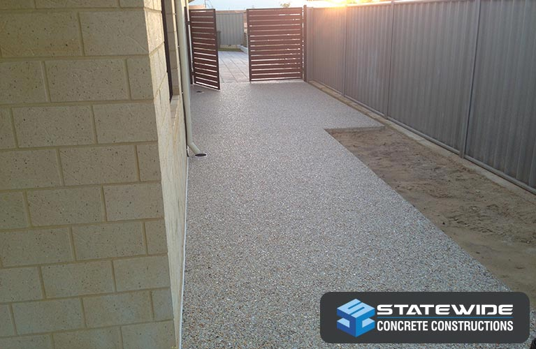 statewide concrete constructions exposed aggregate path