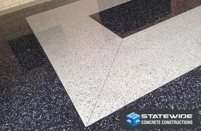Our honed concrete in Perth