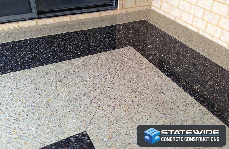 statewide concrete constructions honed concrete corner
