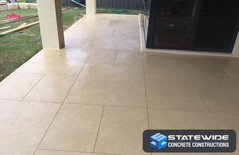 statewide concrete constructions liquid limestone deck