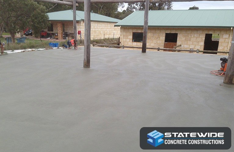 statewide concrete constructions grey concrete slab