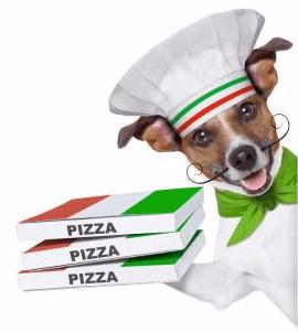 Consegna a domicilio pizze