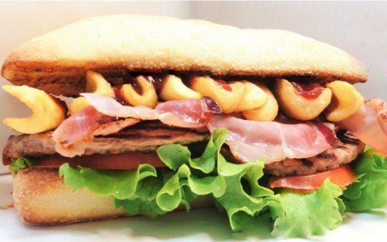 Panino Mega Street Burger