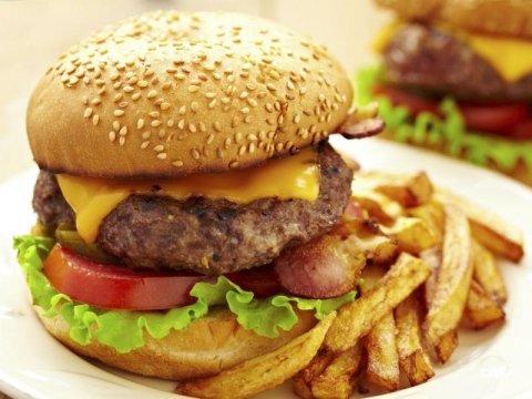 Panini con hamburger