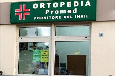 Esterni del'ortopedia del Promed a Nardò