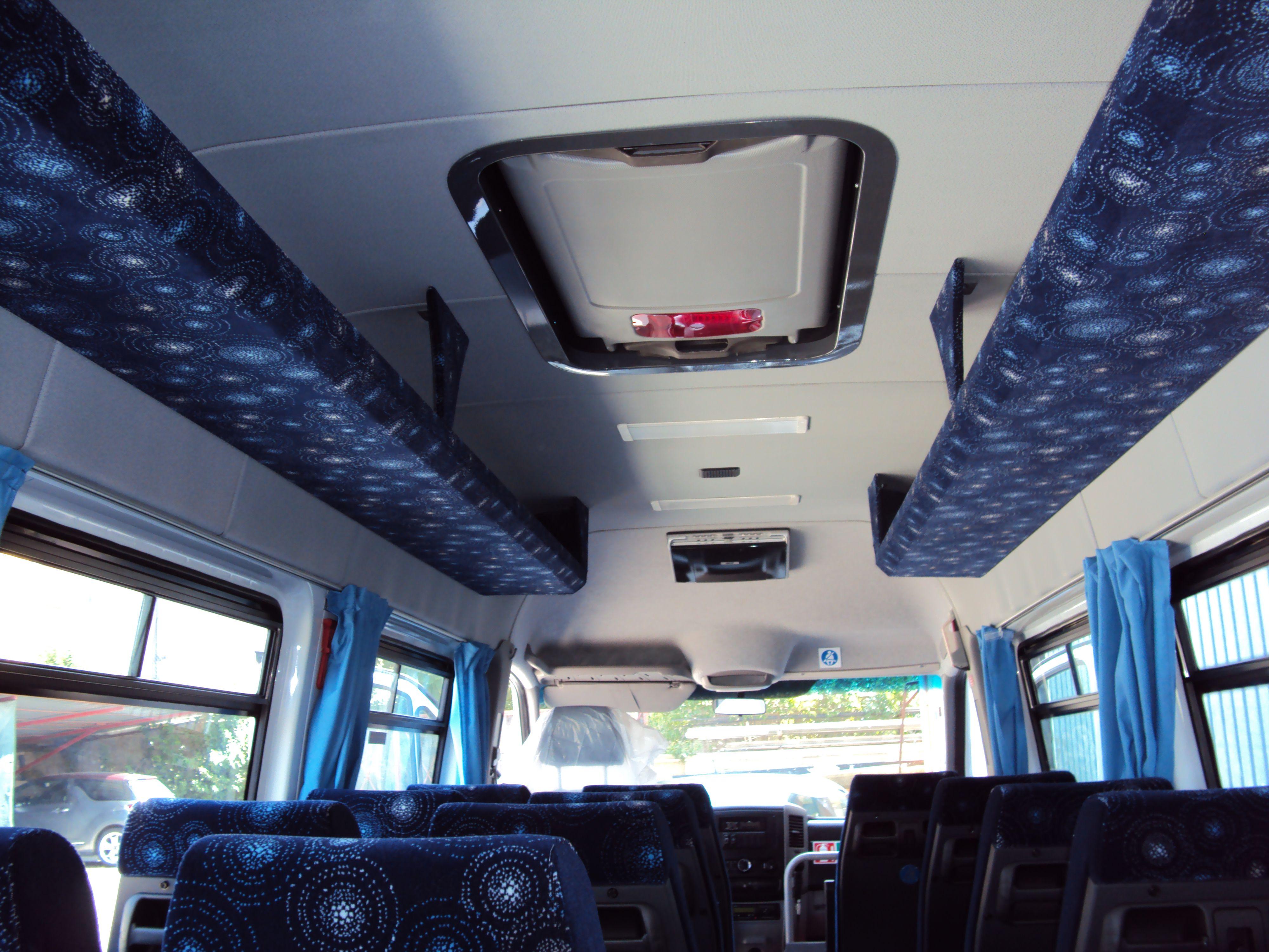 Minibus dall'interno