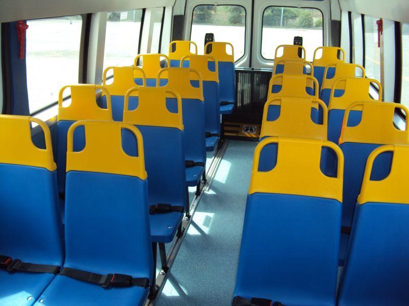 Posti a sedere di uno scuolabus
