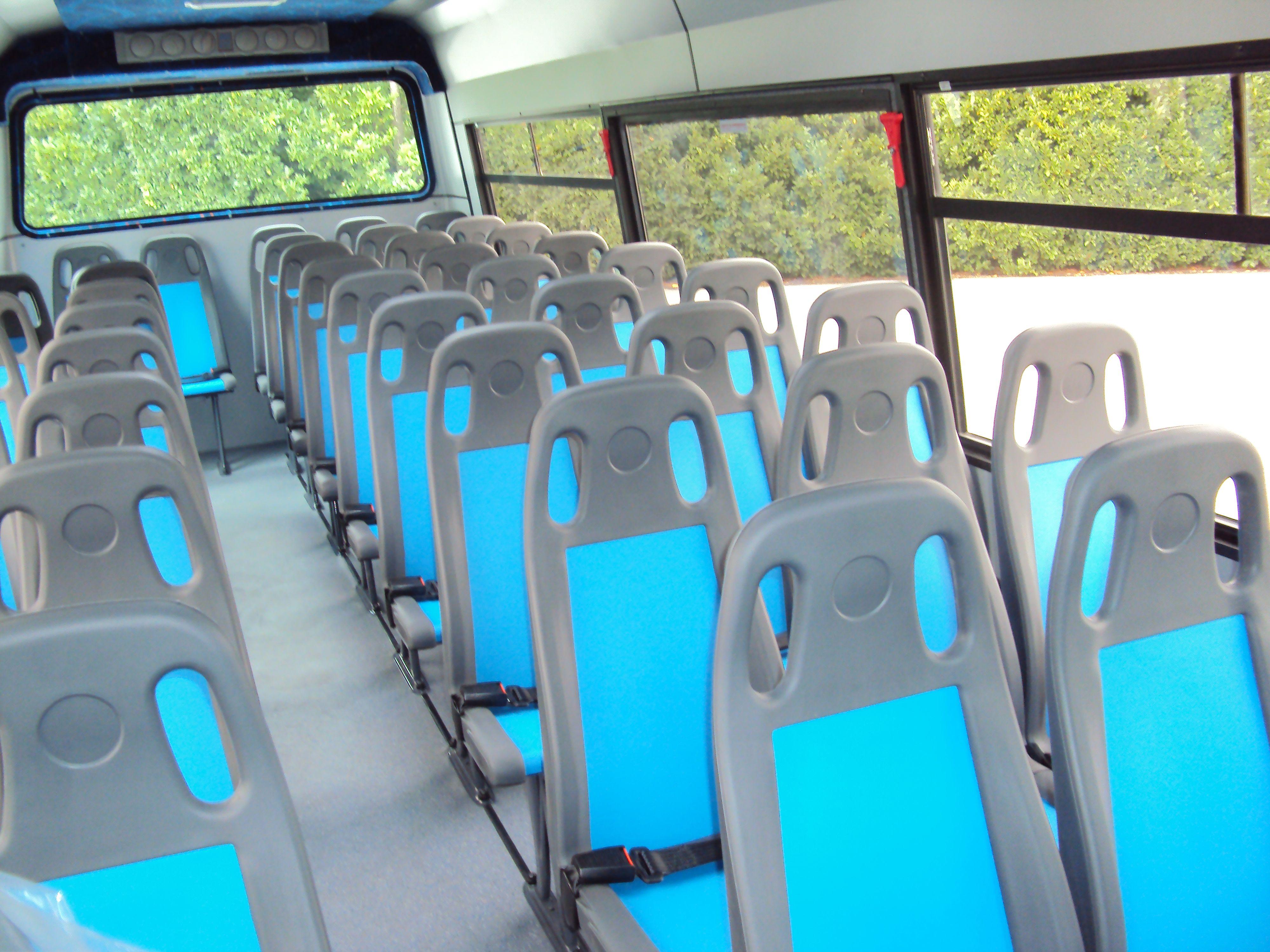 Posti a sedere di un bus