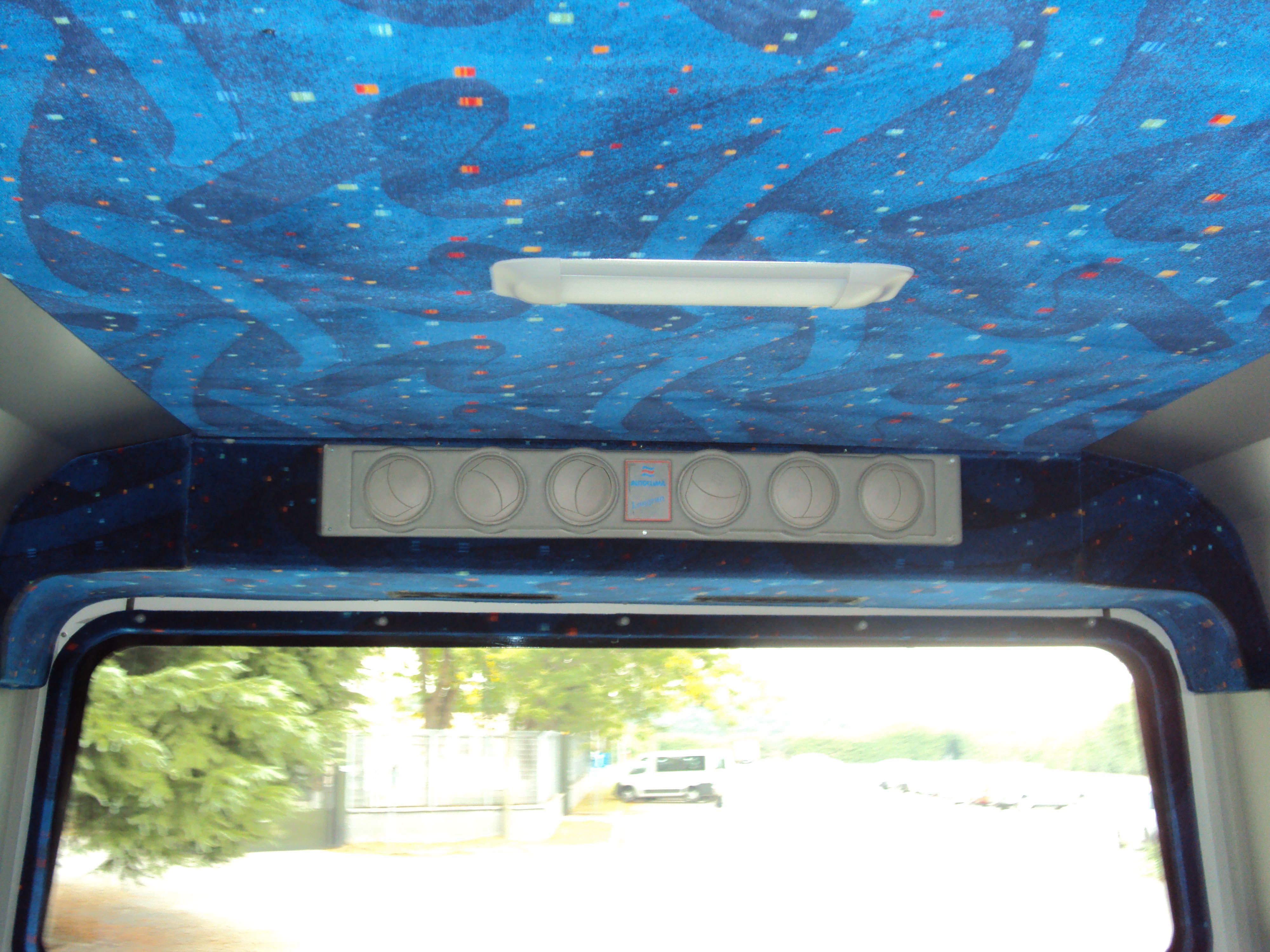 Tetto di un bus