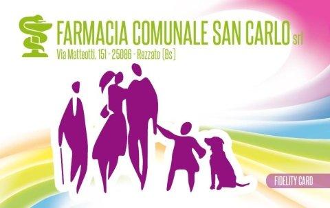 Fidelity card farmacia san carlo