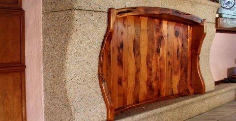 copricappa legno ginepro