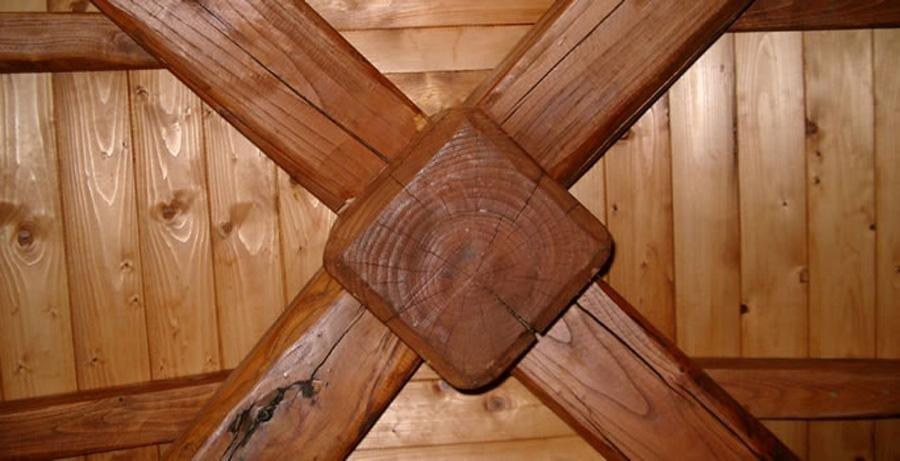 gazebo douglas legno