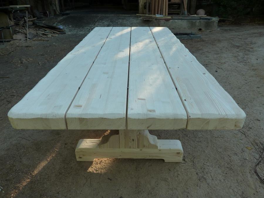 tavolo in abete